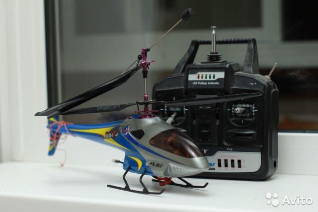 научиться управлять радиоуправляемым вертолетом
