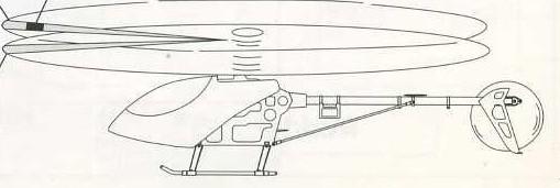 Бабачка на основном роторе вертолета