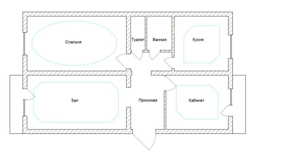 Проектирование электрики в квартире
