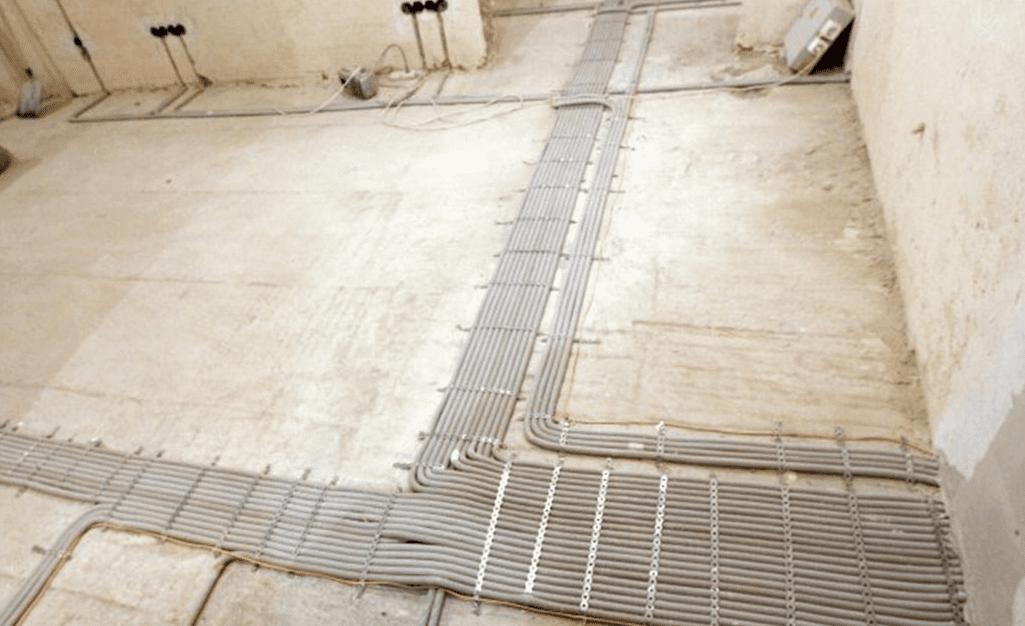 Способы прокладки скрытая проводка