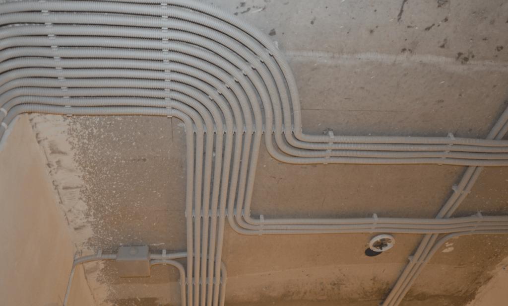 Способы прокладки кабелей скрыто