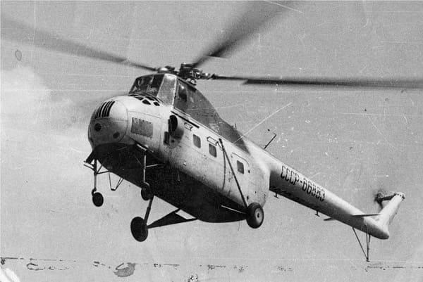 Первые вертолеты СССР.