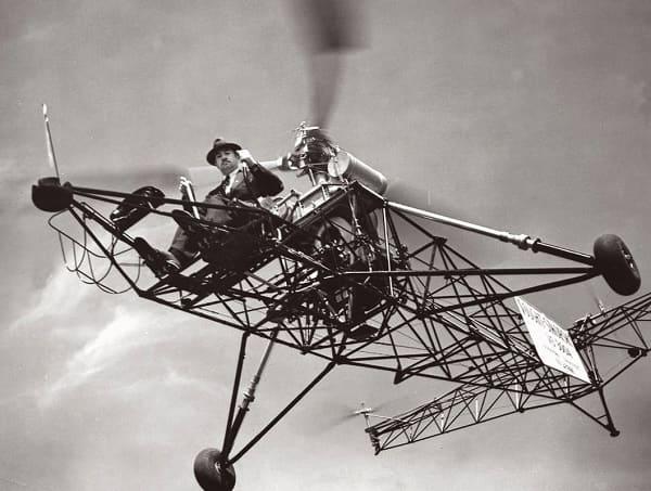 Кто изобрел вертолет