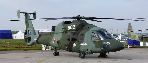 Вертолеты Камова Ка. 74 года истории.