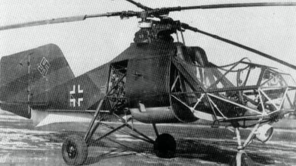 Развитие вертолетов.